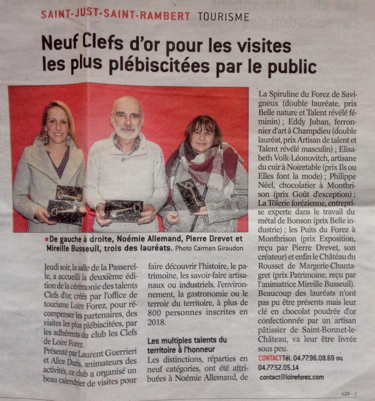 Les Clefs D'Or Loire-Forez
