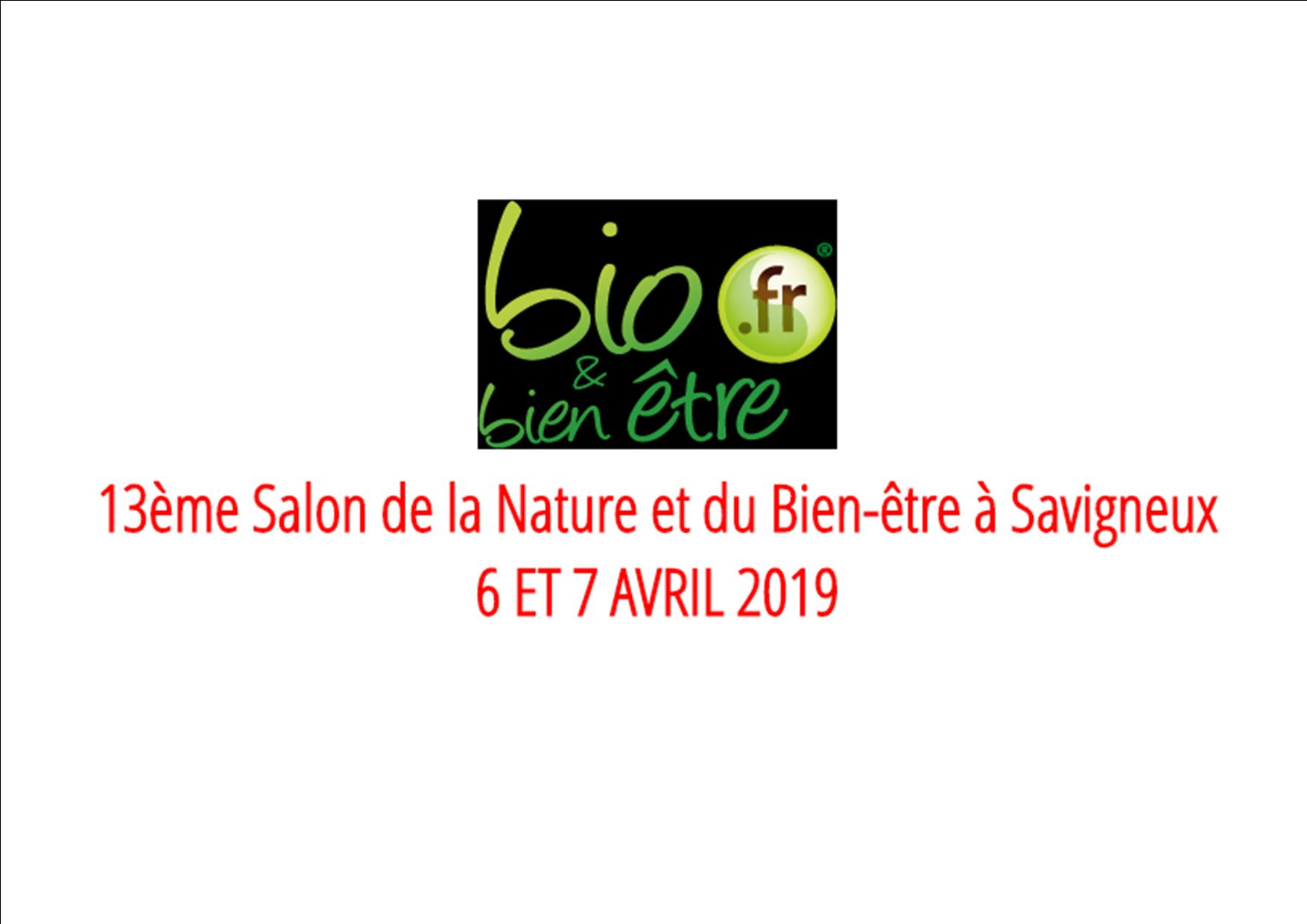 Salon Nature Et Bien-être 6-7 Avril