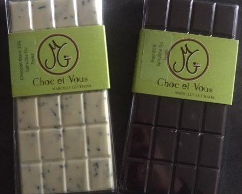 Chocolaat Spiruline